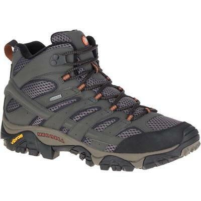 Merrell Mens Moab 2 Mid GTX Waterproof Breathable Walking Boots