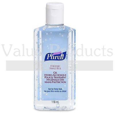 Purell Antibacterial Alcohol Hand Rub Gel Cleanser Sanitiser - 118ml Flip Top...