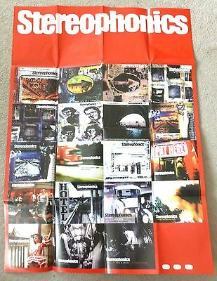 Stereophonics - Music poster and assorted ephemera
