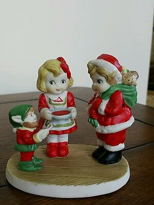 1991 Campbell's Soup Kids Christmas Figurine Decoration