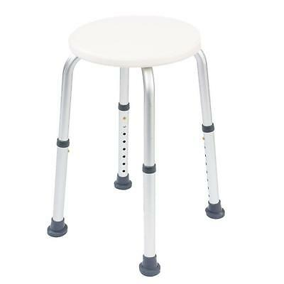 NRS Healthcare L97718 Height Adjustable Round Shower Stool Eligible for VAT...