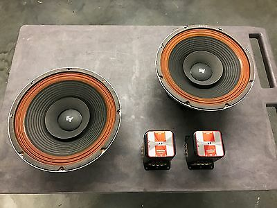 Electro-Voice SP12c Woofers & X8 Crossovers - Amazing Condition!