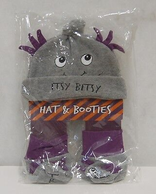 Grasslands Road 468439 Bootiful Baby Itsy Bitsy Hat Booties Trick Treat