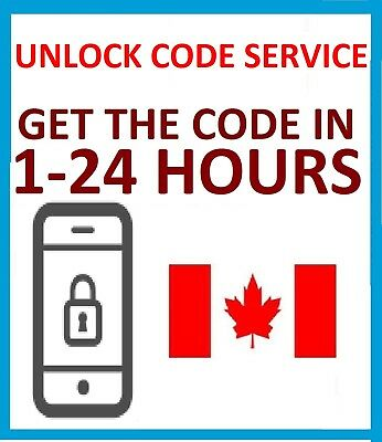 Unlock Code For Samsung Galaxy S8+ S8 S7 Edge J3 J5 J7 Bell Virgin Canada
