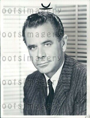 1965 Wire Photo Legendary Actor Glenn Ford