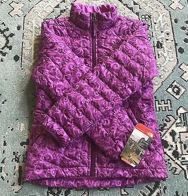 NEW $120 The North Face Girls M 10/12 Thermoball Jacket Winter Puffer Coat