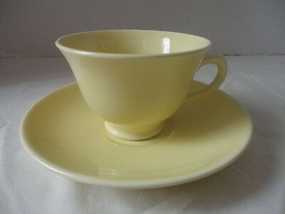 Vintage TS&T Lu-Ray Pastels Tea Cup & Saucer Yellow Wedding Shower Favor