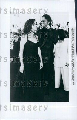 1995 Wire Photo Actors Susan Sarandon & Tim Robbins