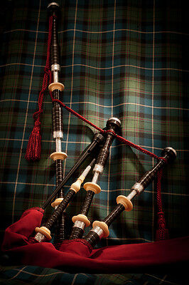 Duncan MacRae SL4 highland pipes by Stuart Liddell made by McCallum bagpipes