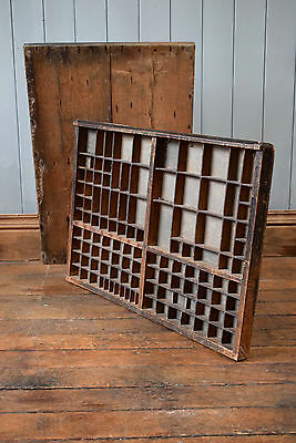 Antique Printing Block Tray Decorative Wall Hanging