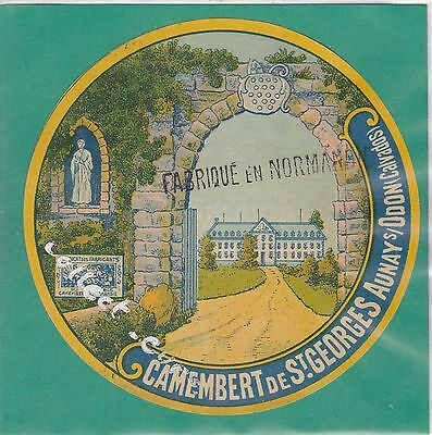 K467 Fromage Camembert Saint Georges Aunay Sur Odon Calvados
