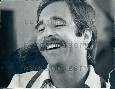 1974 Wire Photo Headshot Actor Beau Bridges