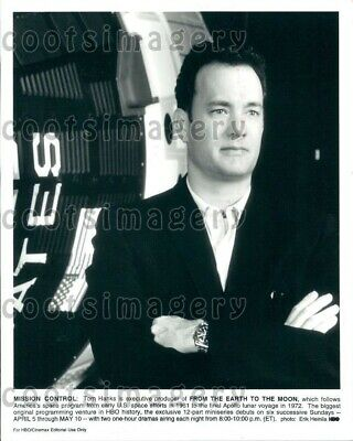 1999 Wire Photo Handsome Actor Tom Hanks