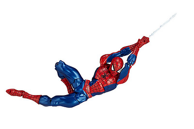 New Anime Revoltech Series No.002 Spider Man PVC Action Figure Toy Collection