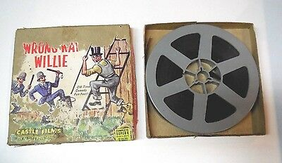 Super 8 Video WRONG WAY WILLIE with Box, Castle films B & W
