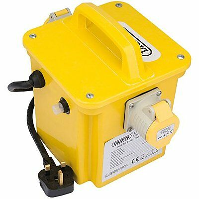 Draper 31263 230 - 110 V Portable Site Transformer - Yellow