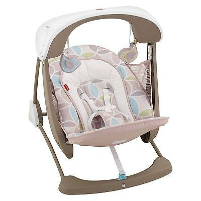 Baby Fisher Price Deluxe Take Along Swing  Set Calming Vibration Seat Chair Extr