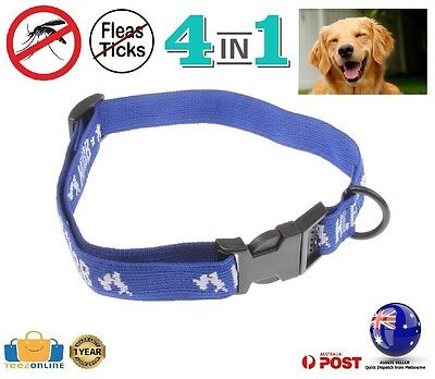NEW Dog Pet Flea Collar 4 in 1 Tick Egg Treatment Kill Mosquito Control Remedy