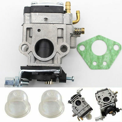 15mm Carburetor Kit Fit Brushcutter 43cc 49cc 52cc Strimmer Cutter Chainsaw Carb