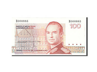 [#115540] Luxembourg, 100 Francs, 1980, 1980-08-14, KM:57a, UNC(65-70)