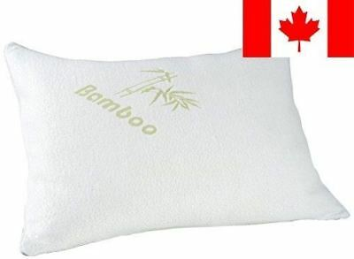 Remedy Shredded Memory Foam Pillow with Bamboo Cover