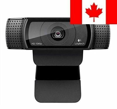 Logitech Webcam HD Pro C920 (US Packaging)