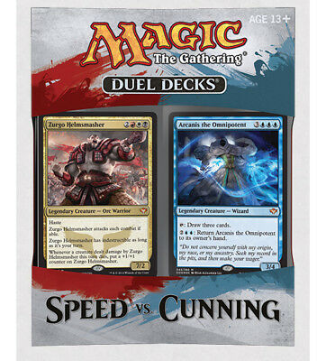 Magic Duel Decks - Speed vs. Cunning englisch, Zurgo, Arcanis