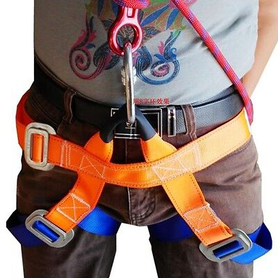 Strong Rock Tree Climbing Harness Seat Bust Belt Safe Rappelling Protector Gear