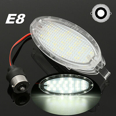 Error Free 24 LED License Plate Light for OPEL Vauxhall Astra F Corsa B Vectra