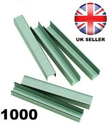 """HEAVY DUTY STAPLES  8mm 5/16"""" LEG - PACK OF 1000 - BRAND NEW AND BOXED"""