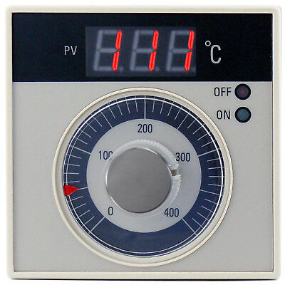 Temperature Controller ON-OFF TC K industrial drying bakery oven 400°C 7A 230V