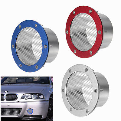 Universal Car Air Duct Grille Bumper Vent Inlet for Cold Air Intake SUV Truck