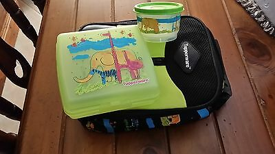 Tupperware Insulated Lunch Bag, Lunch Box, Snack Container & Divided Bowl
