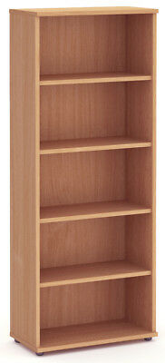 NOVA Aspire Tall 2000mm Bookcase, BEECH