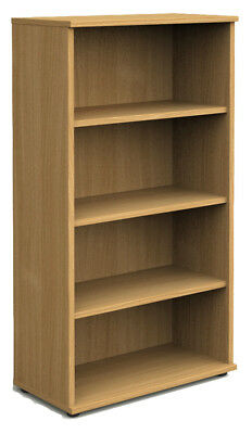 NOVA Aspire Tall 1600mm Bookcase, OAK