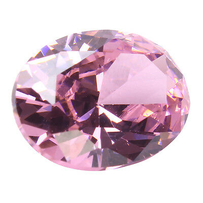 5 Szies AAA Pale Pink Sapphire Gems Oval Faceted Cut 4.26ct VVS Loose Gemstone