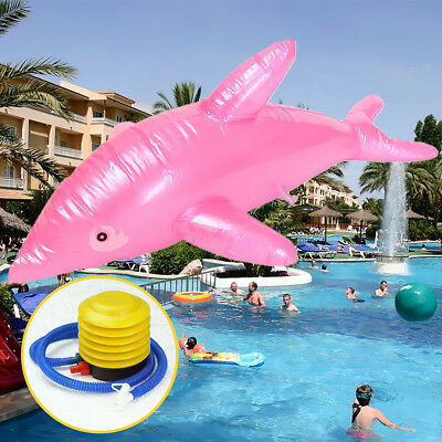 Inflatable Dolphin Fish 53cm Beach Party Children Kids Toy Gift Fancy Dress Prop