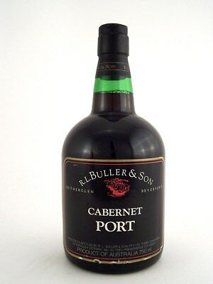 1977 circa NV BULLER & SON Cabernet Port Isle of Wine