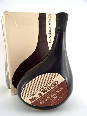 1977 circa NV SETTLEMENT WINE CO Golf Club Series No.2 Wood Port Isle of Wine