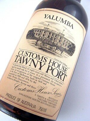 1978 circa NV YALUMBA Melbourne Customs House Tawny Port B Isle of Wine