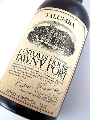 1978 circa NV YALUMBA Fremantle Customs House Tawny Port Isle of Wine