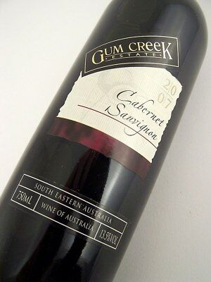 2007 GUM CREEK Estate Cabernet Sauvignon Isle of Wine