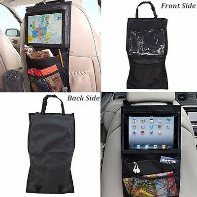 Travel Back Seat Car Organiser holder For iPad / Tablet  / Galaxy Storage Pocket