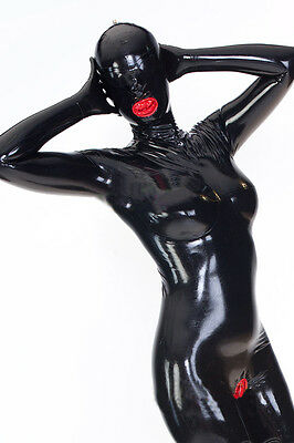 Platex Full Body Enclosure Latex Rubber Catsuit with Chlorination NEW RRP £350