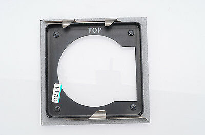 Graflex View 4x4 to Speed Graphic Lens Board Adapter                        #244