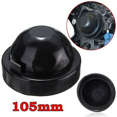 For HID LED Headlight Headlamp Bulb105mm Rubber Seal Cap Cover Dust Waterproof