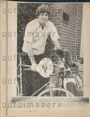 1974 Wire Photo Jim Palmer Baltimore Orioles