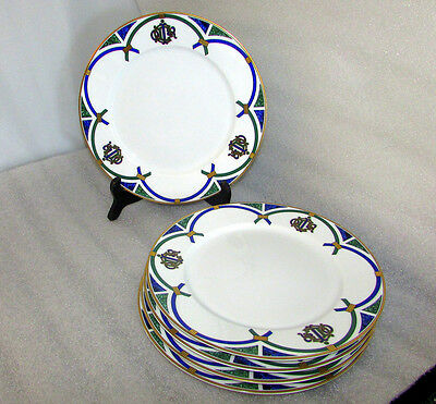 "Christian Dior Arcadior Dinner Plates Limoges 10 1/2"" Sold Individually"