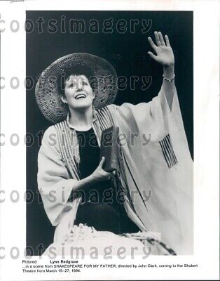 1995 Wire Photo Actress Lynn Redgrave
