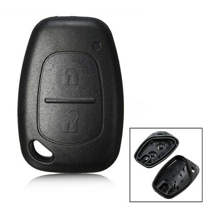 2 Buttons Remote Key Fob Case Shell For Renault Trafic Vauxhall Vivaro Movano